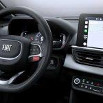 2021 Fiat Pulse'ın iç mekanından ilk görüntüler