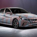 2021 Hyundai Elantra N için teaser yayınlandı!